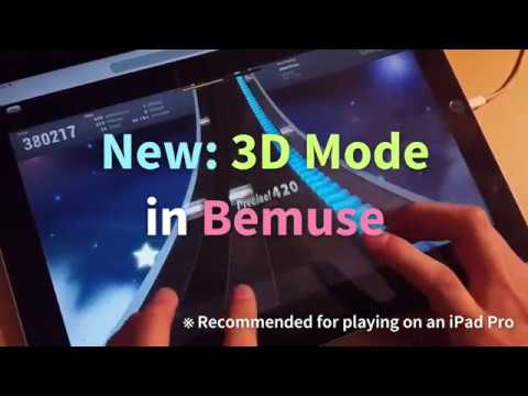 Bemuse 3D mode for iPad