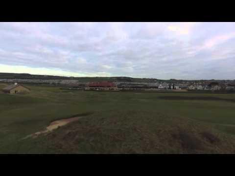 Drone test Royal Portrush Golf Club