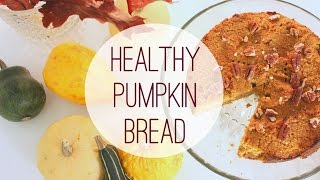 Healthy Pumpkin Bread (sugar And Gluten Free!)