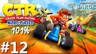 Zagrajmy w Crash Team Racing: Nitro-Fueled PL (101%) odc. 12 - Pierwsze zakończenie trybu Adventure