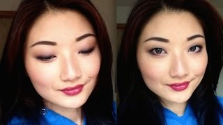Drugstore Tutorial: Autumn Plum Eyes Feat. Essence All About Nude