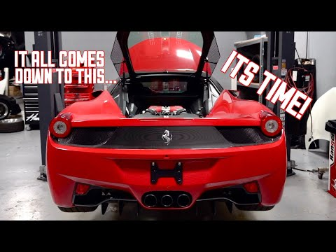 My WRECKED Ferrari 458 is ready to START!!! Trending Videos