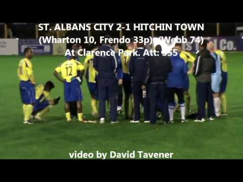 St Albans City 2-1 Hitchin Town. 28 Oct 2013