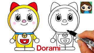 How to Draw Dorami Easy | Doraemon