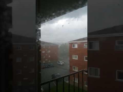 Raw: Gatineau tornado