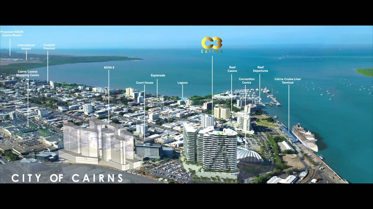 how to get to cairns from melbourne