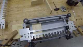 Cutting Half Blind Dovetail, Box Construction- Porter Cable Jig, Festool Router