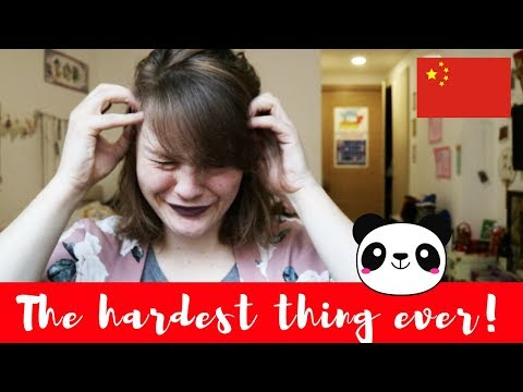 THE HARDEST THING I'VE EVER DONE!
