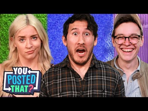 Markiplier, Steven Suptic, and Lily Marston | You Posted That?