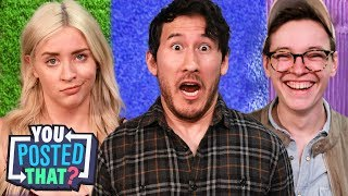 Markiplier, Steven Suptic, and Lily Marston | You Posted That? thumbnail