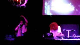 Gonjasufi + Gaslamp Killer live in London at Electrowerkz 2010