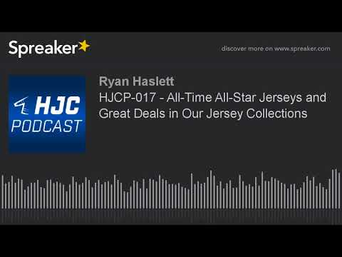 HJCP-017 - All-Time All-Star Jerseys and Great Deals in Our Jersey Collections