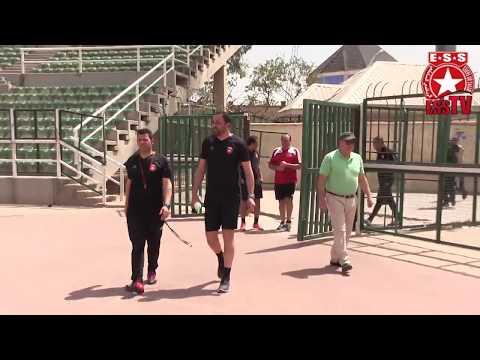 Foot - CL 2018 - Plateau United (NGA)/ESS - Séance d'entraînement à Kano