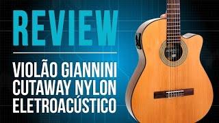 Conheça o violão da Giannini GNFLE - TV Cifras