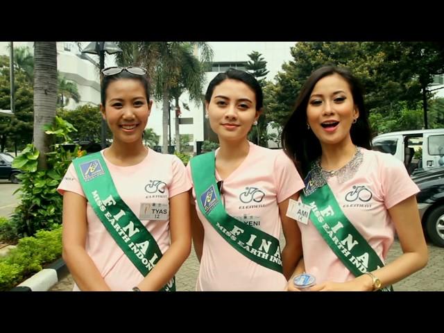Gowes Bareng Finalis Miss Earth 2013 | Element Folding Platinum