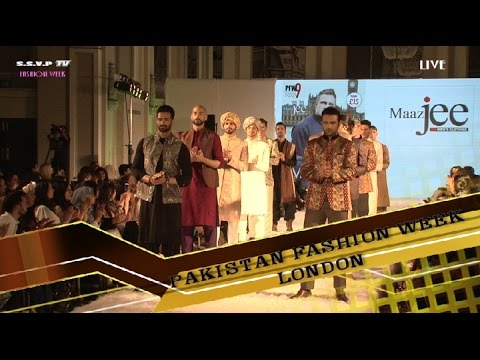Pakistan fashion week london  5th June  2016  1st Runway  part 3 Mans