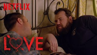 Love | Behind the Scenes: Chris and Mitch Wear Makeup | Netflix