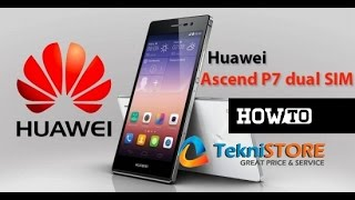 How to change language on Huawei ascend P7 - TekniStore.com
