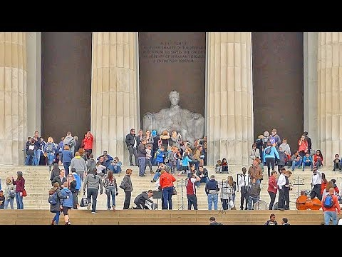 Lincoln Memorial Video Tour :: Washington DC :: USA