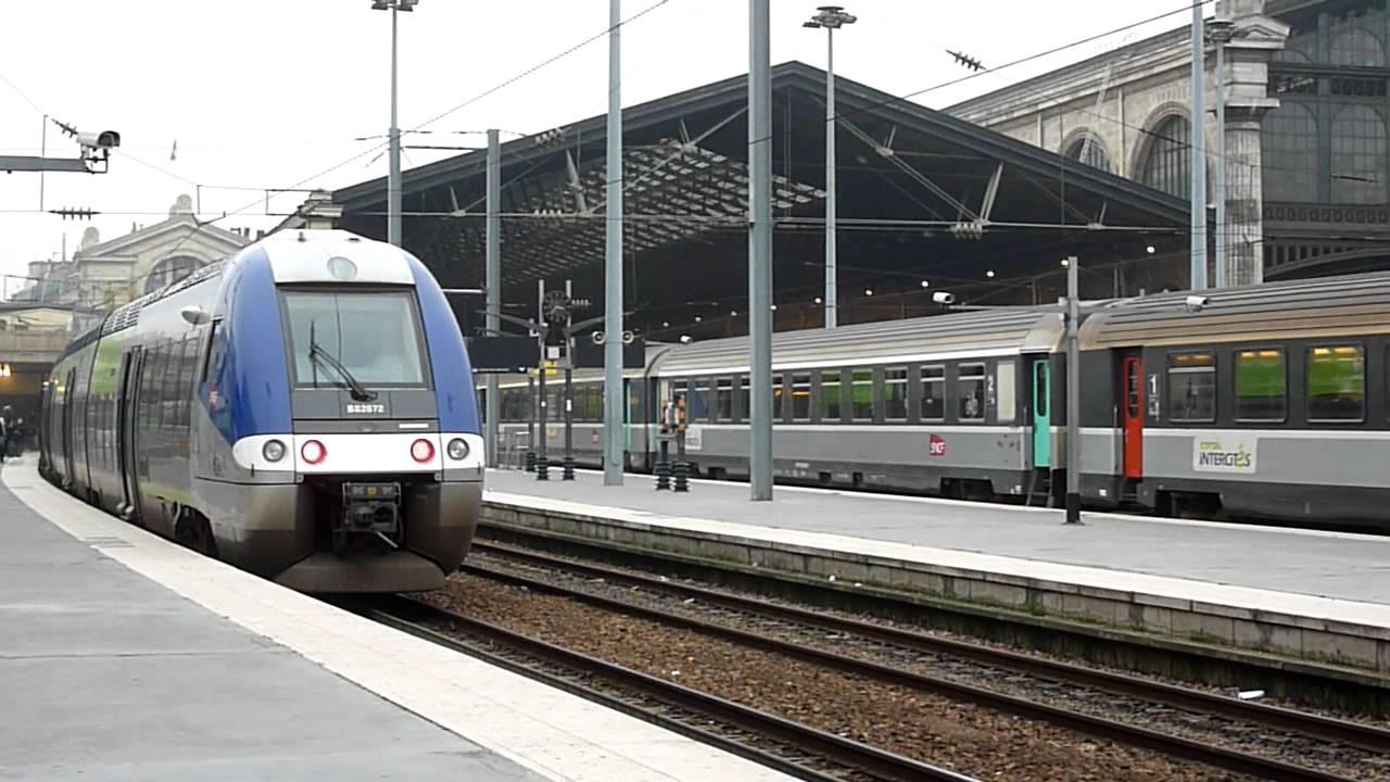Arriv e ter picardie en gare de paris nord et mise en place corail intercit s youtube - Liste magasin paris nord 2 ...