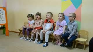 Открытый урок английского языка в садике. Детям 5 лет. 2018г.