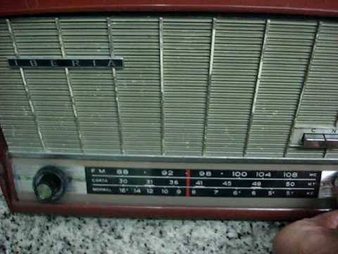 RADIO TRANSISTOR IBERIA TS 4105 FUNCIONANDO EN MADRID