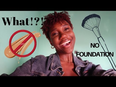 No Foundation Makeup Routine - 동영상