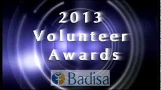 Introduction: 2013 Badisa Volunteer Awards