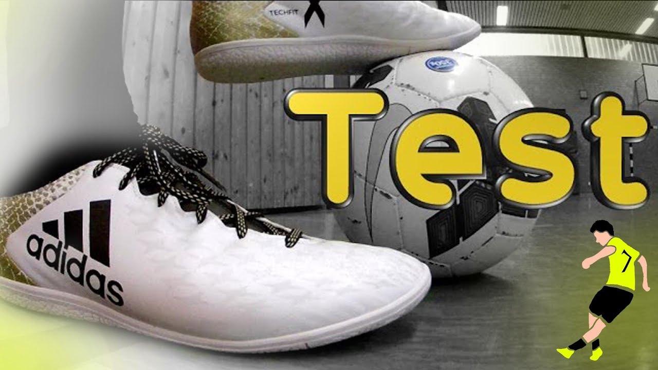 Adidas X16 | Test X16.3 | Futsal Test, Review and Unboxing | Street Football Test | SportplatzHD