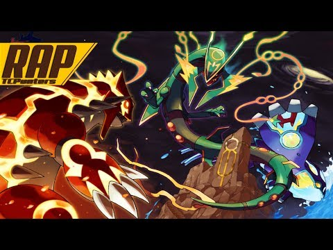 RAP/Rock Primais KYOGRE e GROUDON  Primais Lendários  Pokémon - TCPunters p.HollywoodLegend