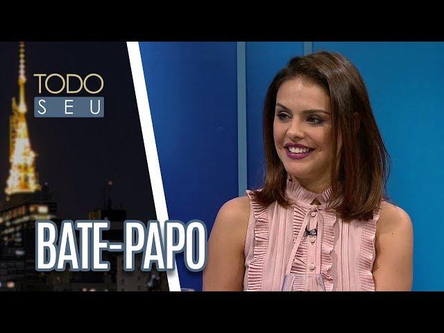 Bate-papo com os atores Paloma Bernardi e Kiko Pissolato - Todo Seu (19/07/18)