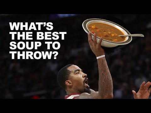 What's the best 'throwing soup?' We investigate for JR Smith and you! (video)