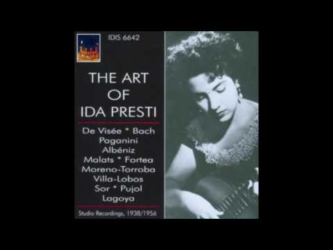 Ida Presti ‎– The Art of Ida Presti - Studio Recordings, 1938/1956 (2012)