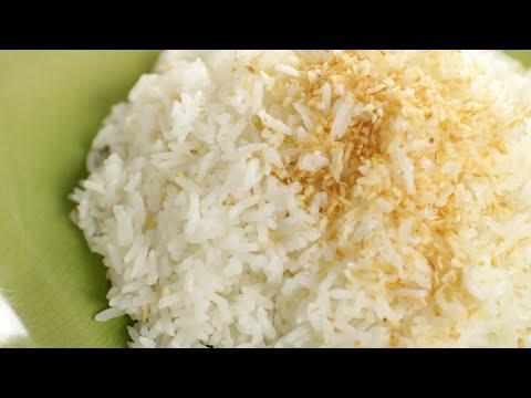 Thai Coconut Rice Recipe ข้าวมัน – Hot Thai Kitchen!