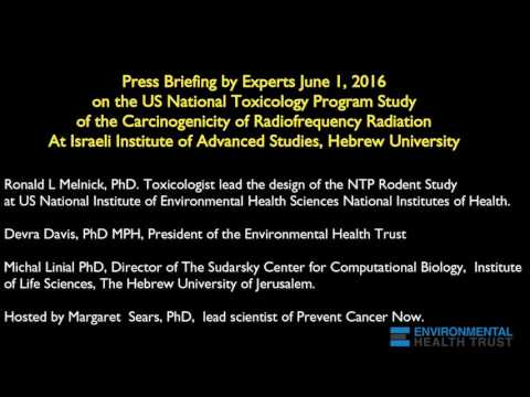 Scientific Briefing on the NTP Study on the Carcinogenicity of Radiofrequency Radiation  6/1/2016