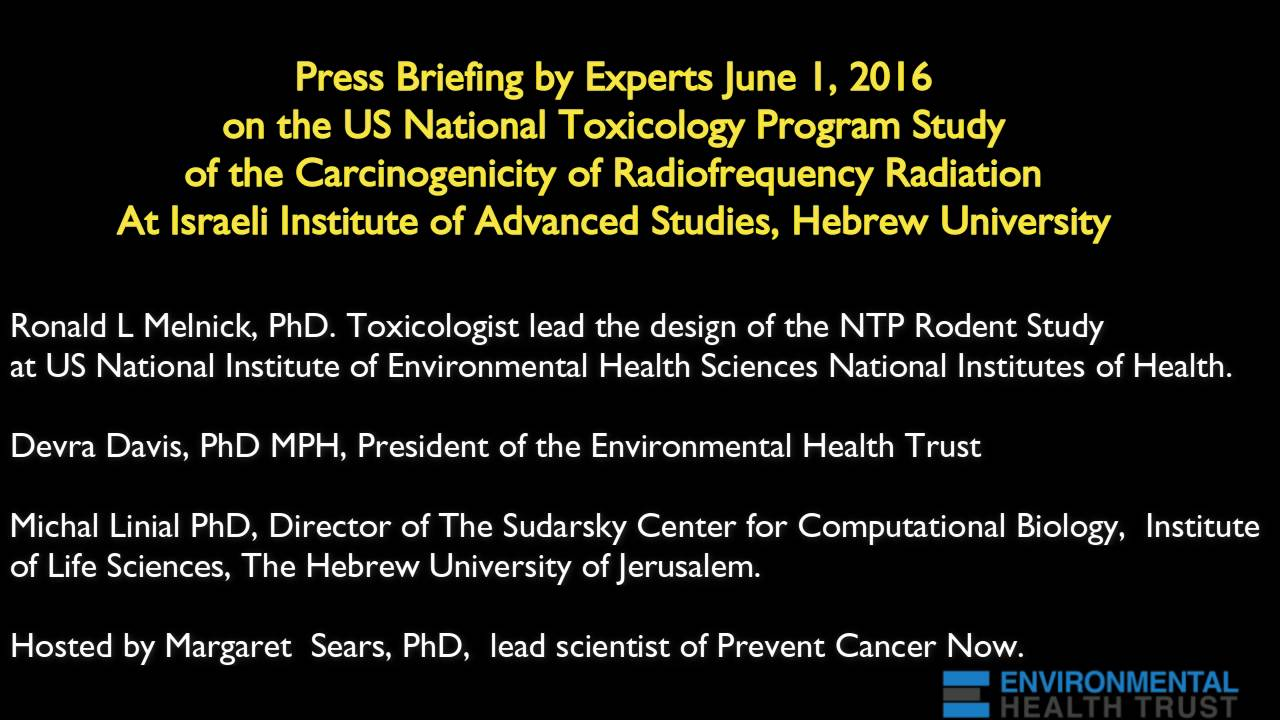 Environmental Health Trust » Blog Archive NIH National Toxicology