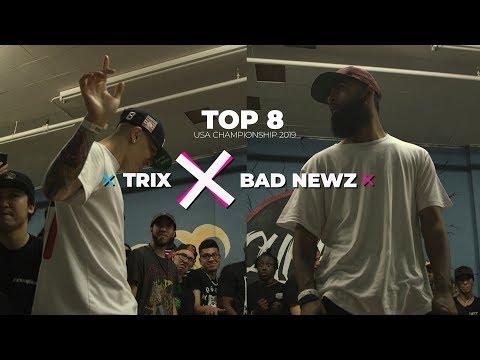 Top 8   Trix VS Bad Newz   BeastCamp USA Championship 2019