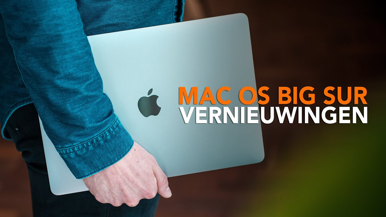 macOS 11 Big Sur: Deze 6 functies gaan je Mac vernieuwen