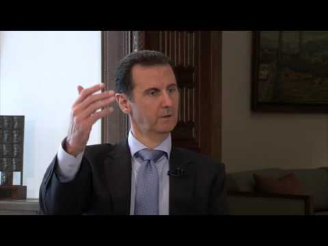 "President al-Assad: ""France was a spearhead in supporting terrorism"" [to France 2 TV]"