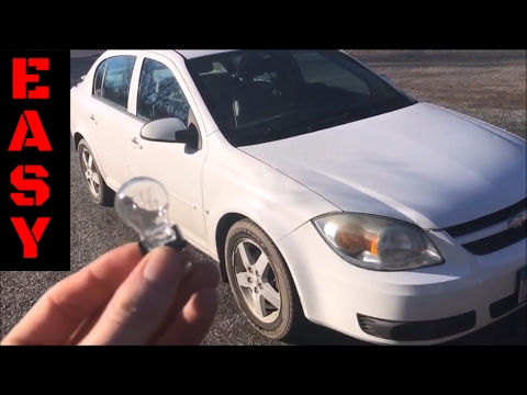 How To Change Tail Light And Reverse Light Bulbs 2007