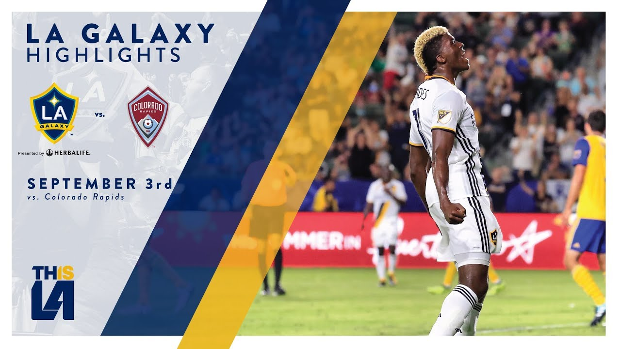LA Galaxy 3-0 Colorado Rapids