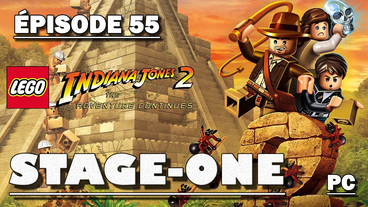 Stage One N55 Lego Indiana Jones 2 Laventure Continue Youtube