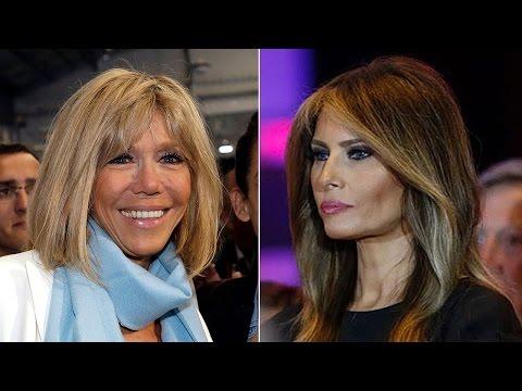 Emmanuel Macron's Wife Is The Anti-Melania Trump   France\'s First Lady   Brigitte Macron