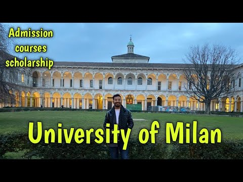 University of Milan| Admission| scholarship| Courses|2020 In