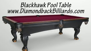 Blackhawk Pool Table-olhausen Call 480-792-1115 To Learn More