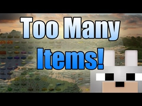 Minecraft Mods - Too Many Items 1.3.1 Review And Tutorial