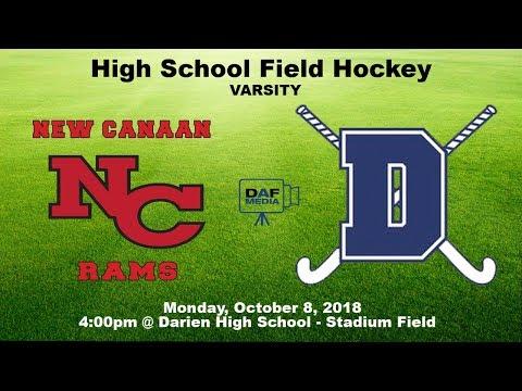 Darien Varsity Field Hockey Vs New Canaan Youtube