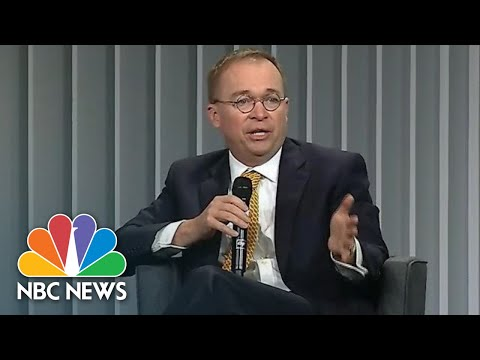 Mick Mulvaney On Ukraine: 'Politics Can And Should Influence Foreign Policy' | NBC News