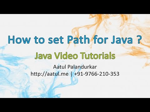 how-to-set-path-for-java