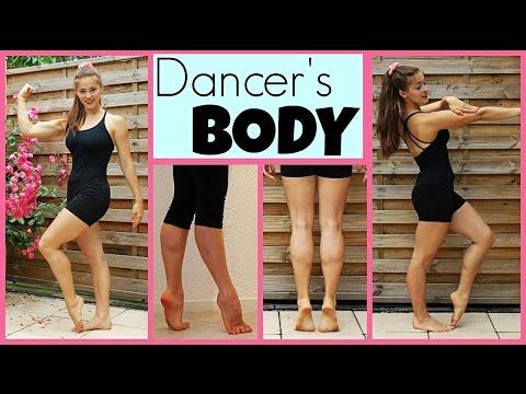 45Min Full Dancer's Body Workout: ARMS/GLUTES/FEET+CALVES